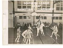 1950 South League Basketball Tourney Compliments Of The Tanaceas
