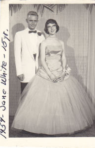 1959 Dave Johnson And Jane White 1959 Prom