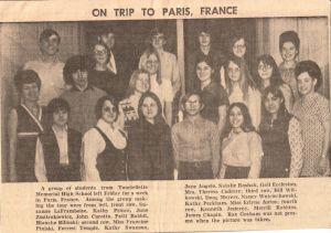 1972 Trip To Paris France