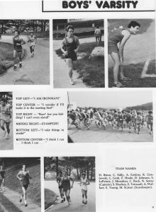 1987 Cross Country Yearbook 4